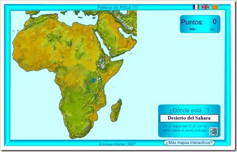 Paises De Africa Mapa Interactivo.6º De Primaria Cono Unidad 10 Africa