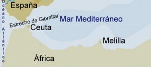 COSTA DE CEUTA Y MELILLA