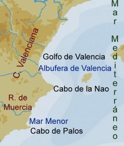 COSTA DE MURCIA Y COMUNIDAD VALENCIANA