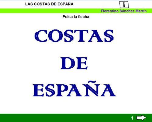COSTAS DE ESPAÑA1