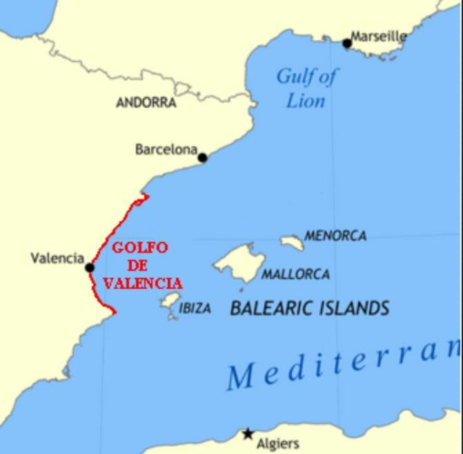 Golfo De Vizcaya Mapa.Geografia Actividades Y Mapas Interactivos Mi Clase De