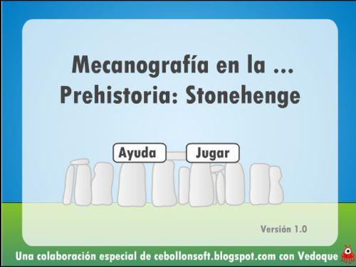 JUEGO DE MECANOGRAFÍA. MECANOGRAFÍA EN LA HISTORIA
