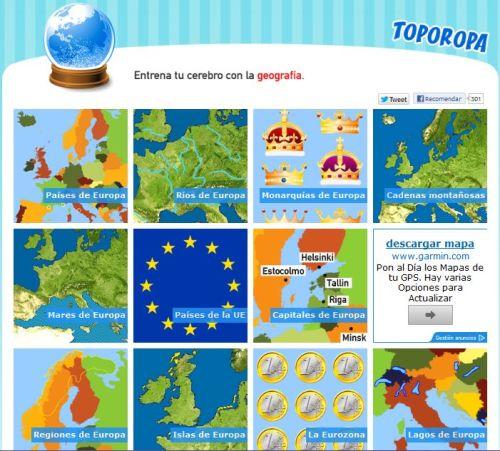JUEGOS. EUROPA