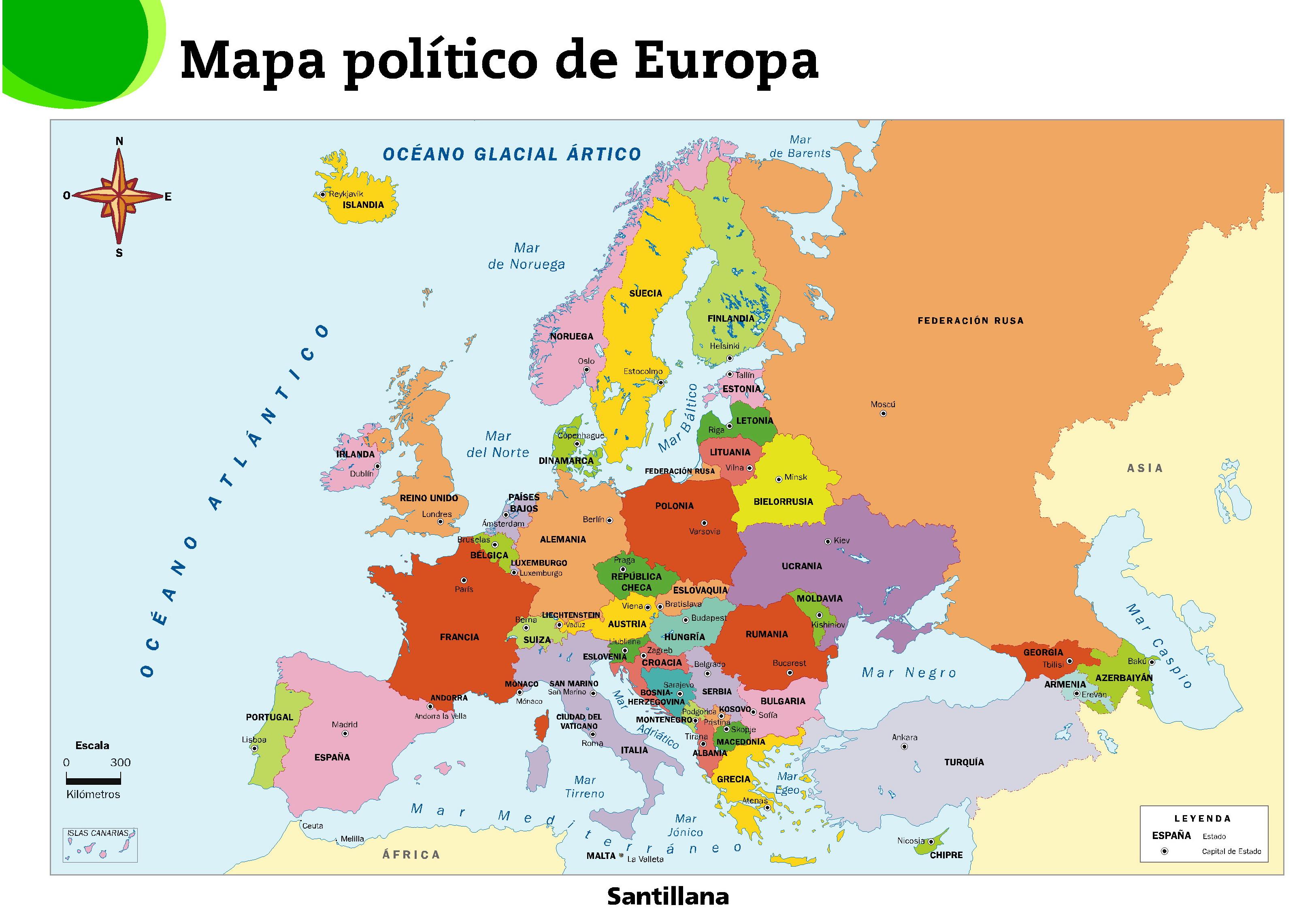 MAPAS FÍSICOS, POLÍTICOS Y MUDOS DE EUROPA | JUGANDO Y APRENDIENDO