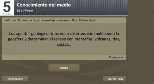 AGENTES GEOLÓGICOS INTERNOS Y EXTERNOS