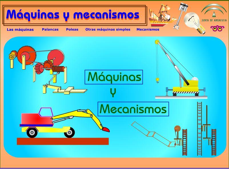 MÁQUINAS Y MECANISMOS