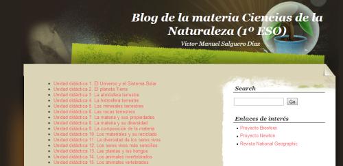 blog de naturales de 1º de ESO