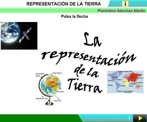 LA REPRESENTACIÓN DE LA TIERRA.ACTIVIDAD 1