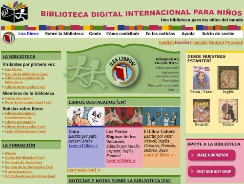 BIBLIOTECA DIGITAL INERNACIONAL PARA NIÑOS