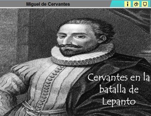 CERVANTES EN LA BATALLA DE LEPANTO