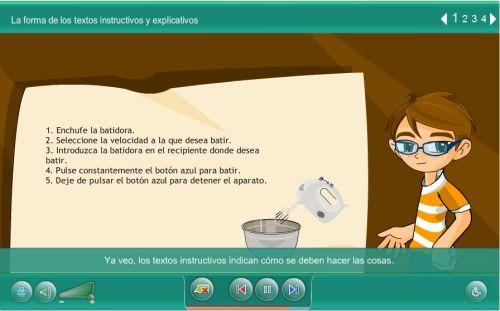 FORMA DE LOS TEXTOS INNSTRUCTIVOS Y EXPLICATIVOS