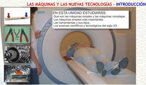 MÁQUINAS Y NUEVAS TECNOLOGÍAS