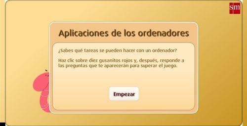 USO DEL ORDENADOR