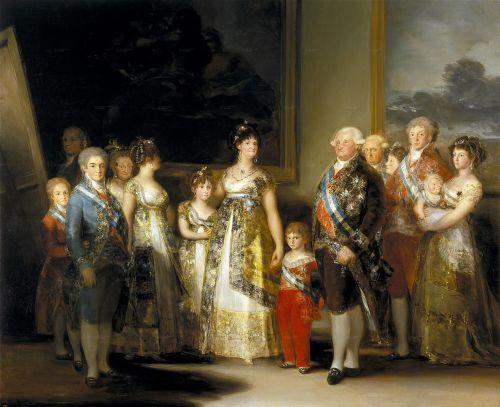FAMILIA DE CARLOS IV