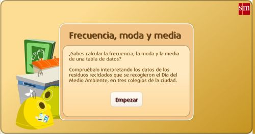 FRECUENCIA, MEDIA Y MODA