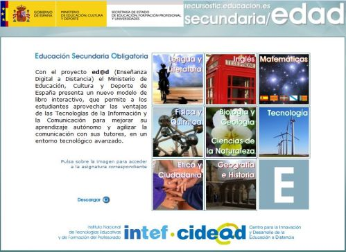LIBROS DIGITALES SECUNDARIA