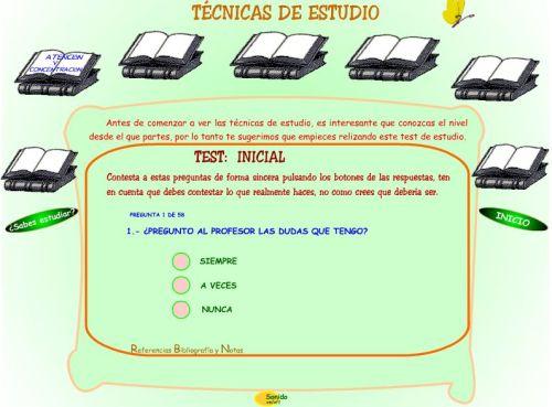 TÉCNICAS DE ESTUDIO1