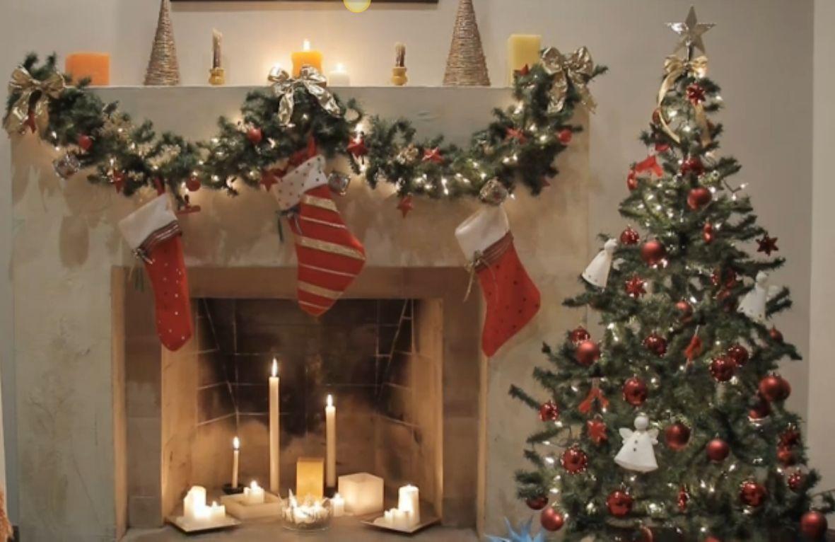 C mo hacer un adorno para decorar la puerta en navidad - Como decorar para la navidad ...