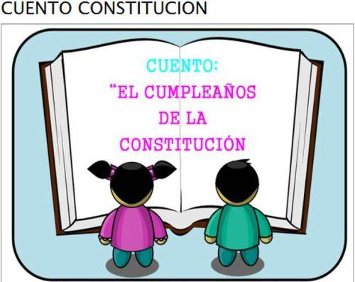 CUENTO SOBRE LA CONSTITUCIÓN