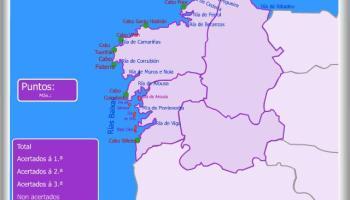 Mapa De Galicia Rios.Os Rios De Galicia Jugando Y Aprendiendo