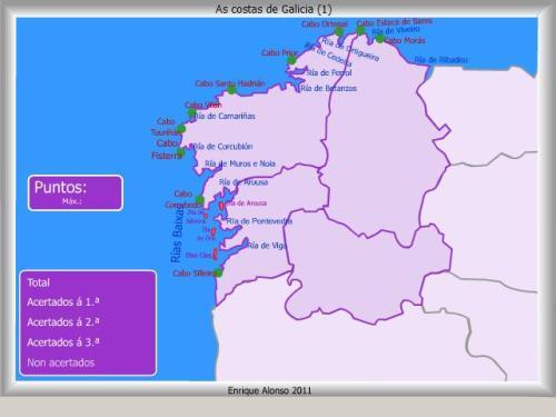 COSTAS DE GALICIA1. MAPAS INTERACTIVOS