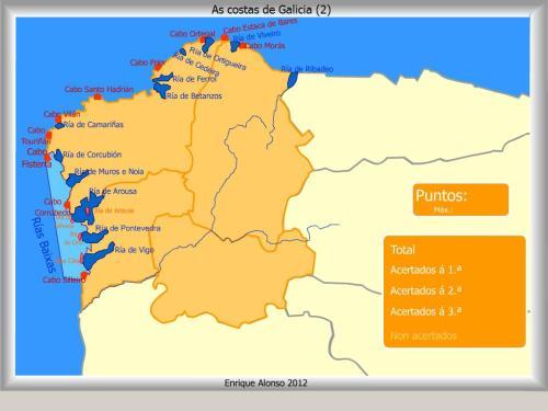 COSTAS DE GALICIA2. MAPAS INTERACTIVOS