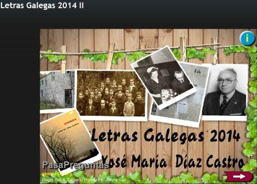 LETRAS GALLEGAS 2014.1