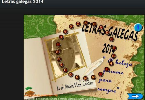 LETRAS GALLEGAS 2014