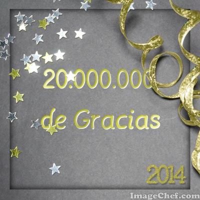 20.000.000 de gracias