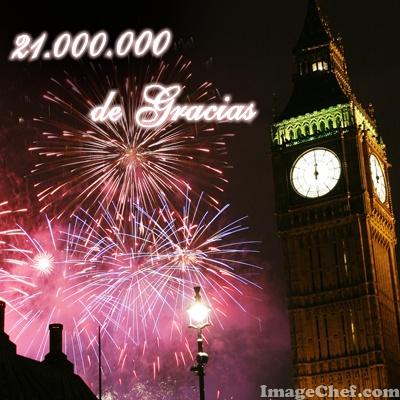 21 millones de gracias