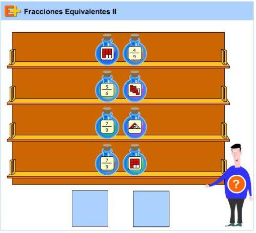 JUEGOS. FRACCIONES EQUIVALENTES1