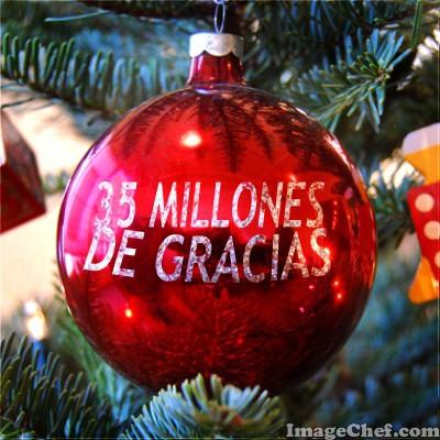 35 MILLONES DE GRACIAS